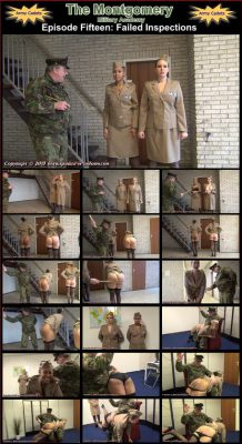 Spanked In Uniform - Montgomery Military Academy Episode 15