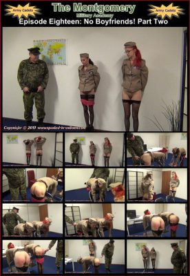 Spanked In Uniform - Montgomery Military Academy Episode 18