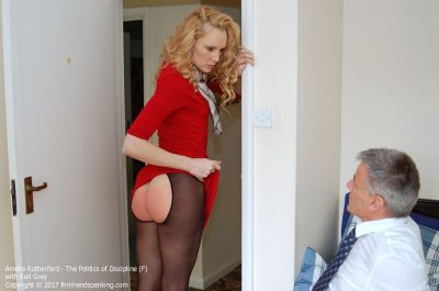 Firm Hand Spanking - Amelia Rutherford - Politics of Discipline - F