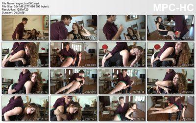 Firm Hand Spanking - Katya Nostrovia - Sugar Daddy - BC