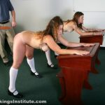 Real Spankings Institute – Rae and Maya Spanked by The Dean (Part 3 of 4)