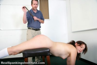 Real Spankings Institute - Syrena: Caught Without Panties (Part 2)