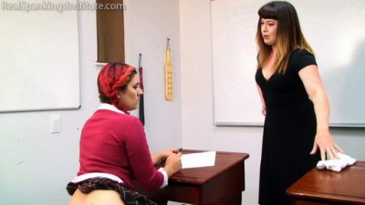 Real Spankings Institute - Stella's Afternoon with Miss Betty (Part 2 of 2)