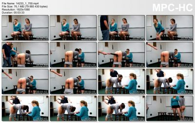 Real Spankings Institute - Spanked for Gym Infractions (Part 1 of 4)