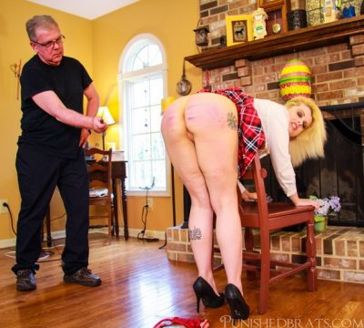 Punished Brats - Reform School Girl Caned Part 2 of 2