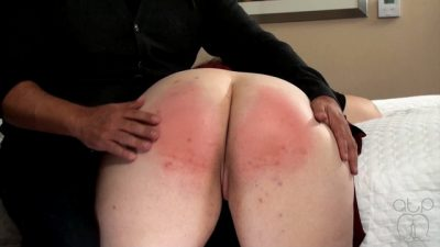 Exposed for the hairbrush - severe school girl Discipline