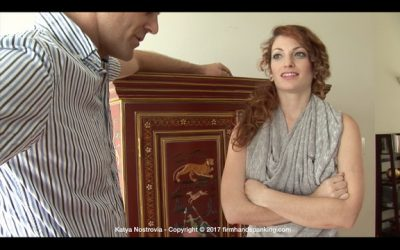 Firm Hand Spanking - Katya Nostrovia - Principal's Office - AP