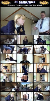 Spanked In Uniform - St. Catherines Episode 13