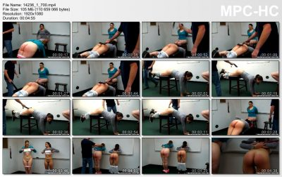 Real Spankings Institute - Spanked for Gym Infractions (Part 4 of 4)