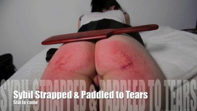 Bare Bottom Belt Whipping for Wet Panties - Sybil Hawthorne