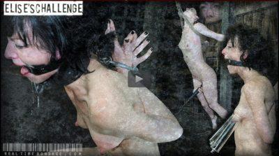 Real Time Bondage - Sep 8, 2012 - Elise's Challenge   Elise Graves