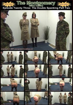 Spanked In Uniform - Montgomery Military Academy Episode 23