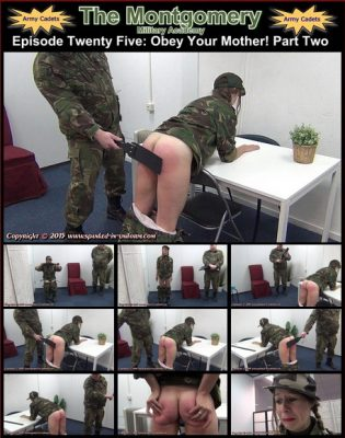 Spanked In Uniform - Montgomery Military Academy Episode 25