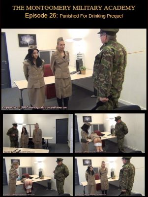 Spanked In Uniform - Montgomery Military Academy Episode 26