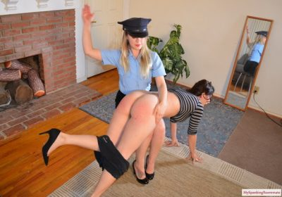 My Spanking Roommate - Episode 255: Kay and Elori Spanked For Jaywalking