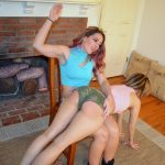 My Spanking Roommate – Episode 257: Savannah Spanks Briella Over Bed