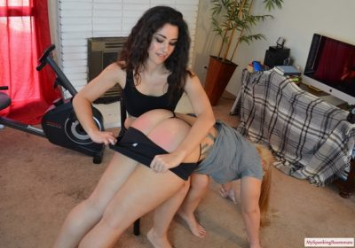 My Spanking Roommate - Episode 259: AlexH Gets Revenge Spanking on Madison