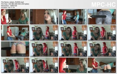 Firm Hand Spanking - Sophie Taylor - Sorority Sisters - FH