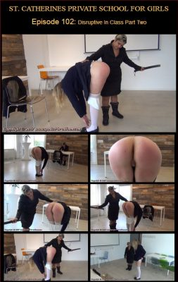 Spanked In Uniform - St. Catherines Episode 102