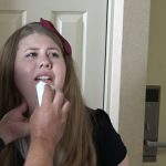 Mouth Soap and Bathbrush for Disrespect – Christy Cutie