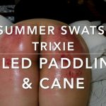 Assume the Position Studios – OILED Paddling and Caning – Summer Swats for Trixie
