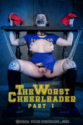 Real Time Bondage - Nov 11, 2017: The Worst Cheerleader Part 1 | Luna LaVey
