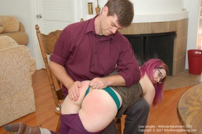 Firm Hand Spanking - Lisa Langley - Attitude Adjustment - DB