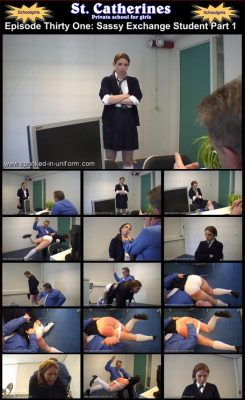 Spanked In Uniform - St. Catherines Episode 31