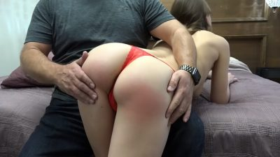 Chrissy Marie Sleeps best with a freshly Spanked Bottom