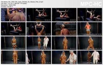 Graias.com - 150 cane strokes for Nessie - part 2