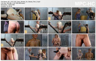 Graias.com - 150 Cane Strokes for Nessie - part 3