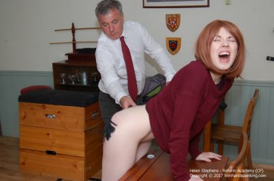 Firm Hand Spanking - Helen Stephens - Reform Academy - CF