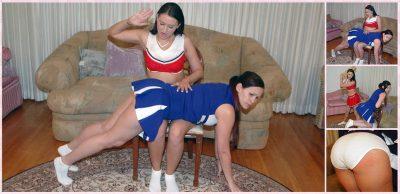 SpankingSororityGirls - Episode 143: Cheerleader Spanking Contest Part 2
