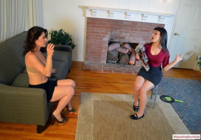 MySpankingRoommate - Episode 264: Elori Spanks Kay for Using Clothes