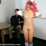 Real Spankings Institute – Kiki: Spanked by The Dean