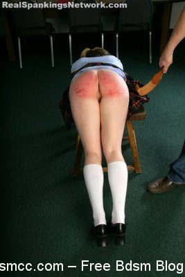 Real Spankings Institute - Hailey is Punished by The Dean (Part 2 of 2)