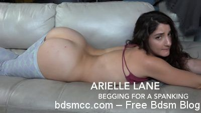 AssumethePositionStudios - Arielle Lane -Begging for a Spanking