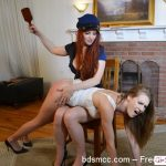 Girl Spanks Girl – Punished at the Border Part 2
