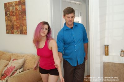 Firm Hand Spanking - Lisa Langley - Attitude Adjustment - DH