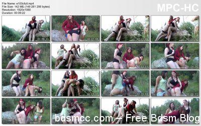 Spanking Sorority Girls - Episode 103: Lost Map Woods Spankings