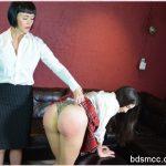 SpankingSororityGirls – Episode 144: Teacher Snow Punishes Arielle