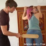 Firm Hand Spanking – Lisa Langley – Principal's Office – AS