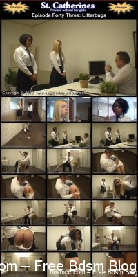 Spanked In Uniform - St. Catherines Episode 43
