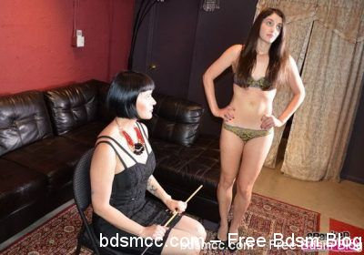 Spanked Call Girls - Madam Snow Punishes Arielle Lane