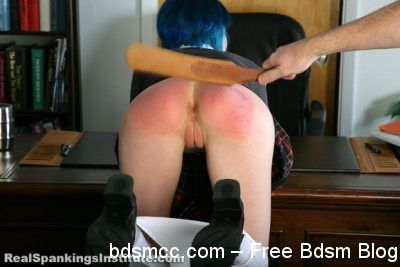 Real Spankings Institute - Madeline's Encounter with The Dean