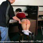 Real Spankings Institute – Devon Punished for Sliding Grades (Part 1 of 2)