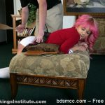 Real Spankings Institute – Kiki: Spanked with Spoon & Breadboard