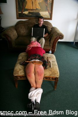 Real Spankings Institute - Kiki: Spanked with Spoon & Breadboard