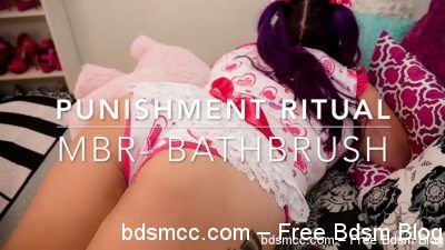AssumethePositionStudios - Punishment Ritual - Bath Brush Beating