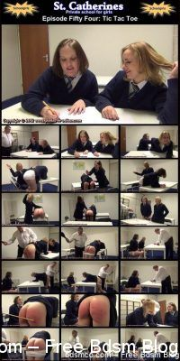Spanked In Uniform - St. Catherines Episode 54